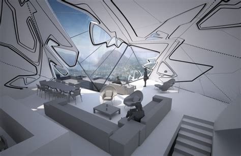 home design for the future crystal like lo monaco house concept futuristic news