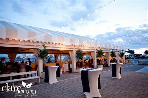 wedding venues rhode island navy and orange waterfront weddingtruly engaging wedding