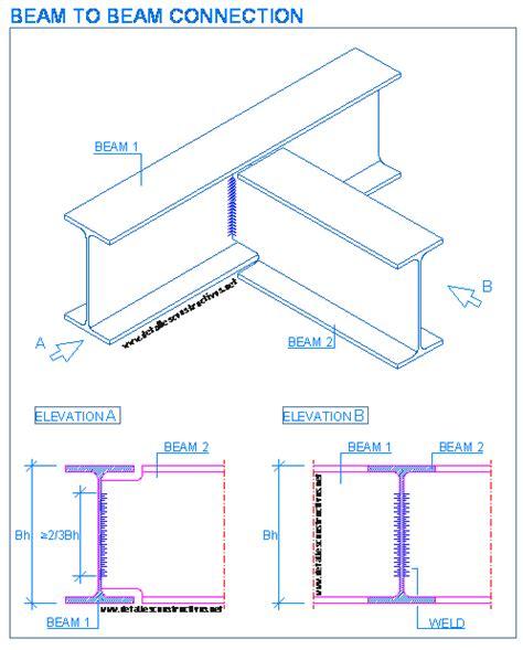 section beam welded joints detallesconstructivos net