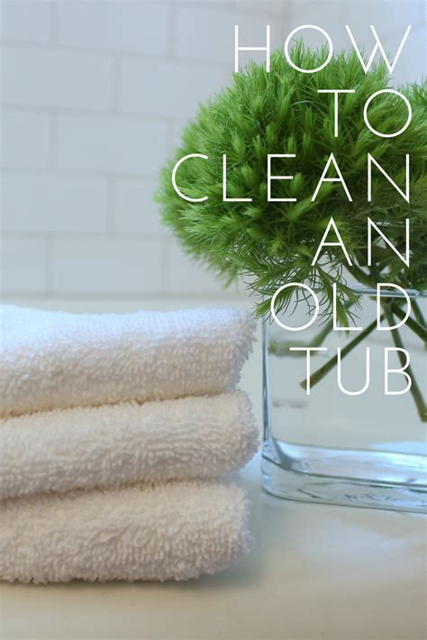 cleaning porcelain bathtub cottage and vine how to clean an old bathtub