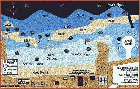 easy snorkel  coki beach st thomas pinterest