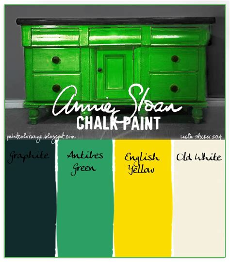 chalk paint green 25 best ideas about yellow chalk paint on