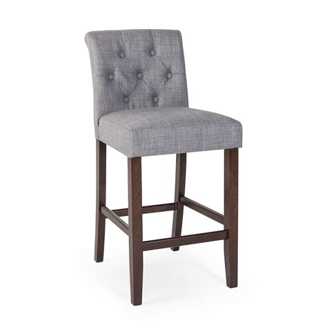 fabric counter stools canada morgana tufted counter stool bar stools at hayneedle