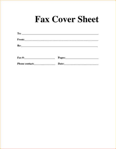 9 cover page for fax bibliography format