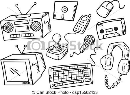 Small House Plans Free Vectors Of Electronic Devices Csp15582433 Search Clip