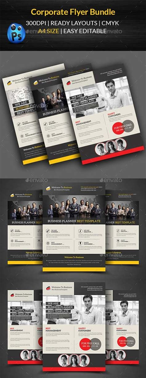 Graphicriver Corporate Flyer Template