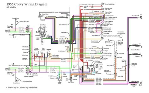 1954 chevy 3100 wiring diagram 1955 chevy wiring diagram