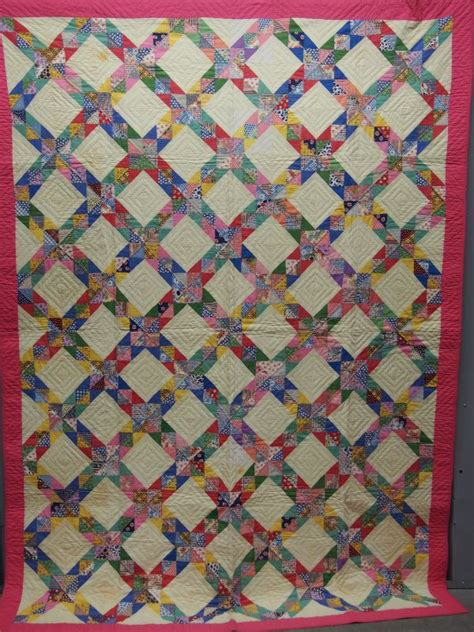 Corn Quilt by Corn And Beans Antique Quilt