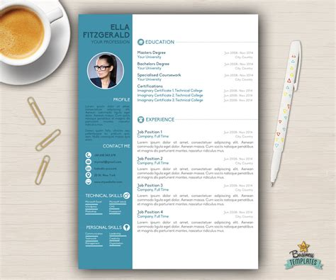 word resume 2 resume template cv template for word cover letter creative