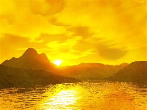 Top Yellow Sy yellow things yellow sunset the free hd wallpaper