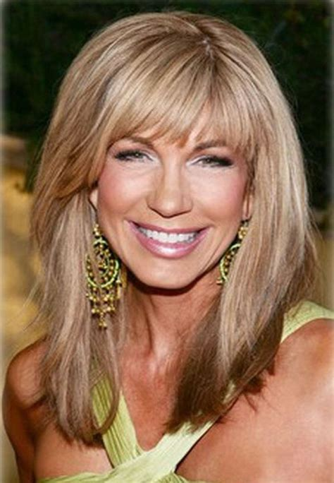 medium length layets for pver 60 layered hairstyles for women over 50 hair pinterest