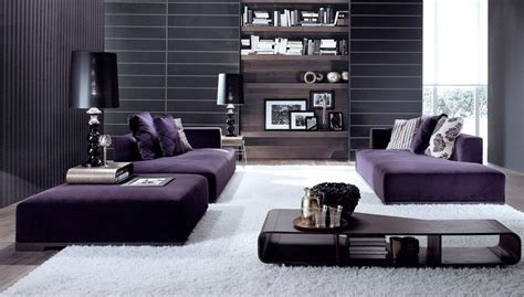 Living Room Ideas With Sectional Sofas How To Match A Purple Sofa To Your Living Room D 233 Cor