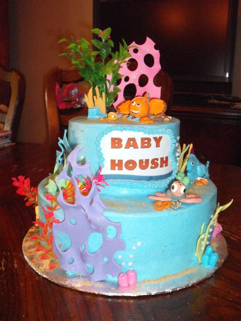 Nemo Baby Shower Cake by Nemo Theme Baby Shower Cake Vermont Bakery