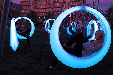 swing timers swing time by howler yoon is an led playground for