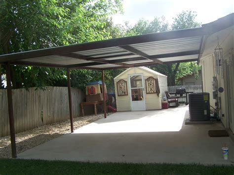 16 X 24 Carport 16x24 1 carport patio covers awnings san antonio