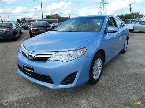 Toyota Camry Car Colors 2012 Clearwater Blue Metallic Toyota Camry Le 57874658
