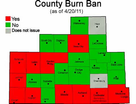 a burn ban is in effect for some counties cirrus weather