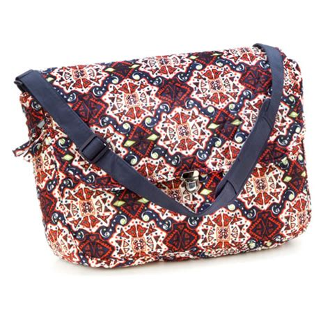 Quilted Messenger Bag Pattern by Quilted Laptop Messenger Bag Navy Geometric Pattern