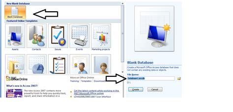 cara membuat database penjualan dengan xp cara membuat database sederhana dengan ms access 2007