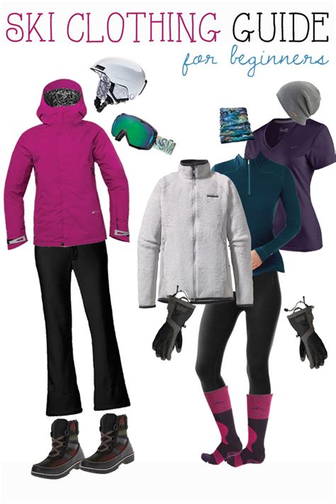 what do i wear to a what to wear skiing a beginner s buying guide bearfoot