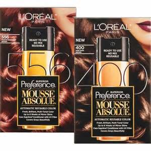 l oreal mousse hair color shoplocal