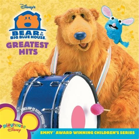 bear in the big blue house music disney disney bear in the big blue house greatest hits amazon com music