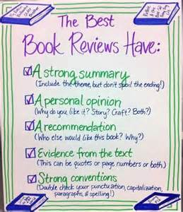Book Review How To Write A Sentence by Book Reviews Anchor Chart Stuff