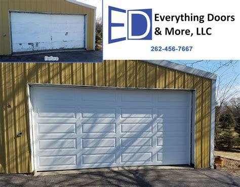 garage door repair installation our everything doors more llc racine wisconsin