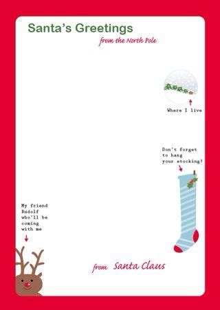Santa Response Letter Template Invitation Template Free Santa Reply Letter Template