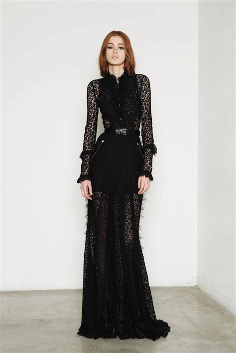 Trend Black Lace Goes Chic by 25 Stunning Dresses To Wear 2015