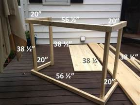 outside bar plans diy outdoor bar with built in cooler