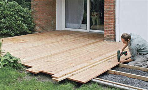 Terrasse Aus Holz Bauen by Garten Terrasse Holz Anlegen Terrasse Aus Holzdielen Bauen