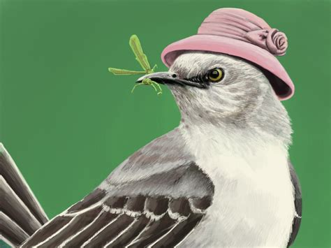 slimbolala to paint a mockingbird