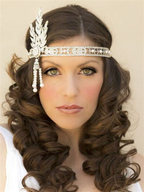 25 best ideas about great gatsby hair on pinterest gatsby for curly hair short curly hair