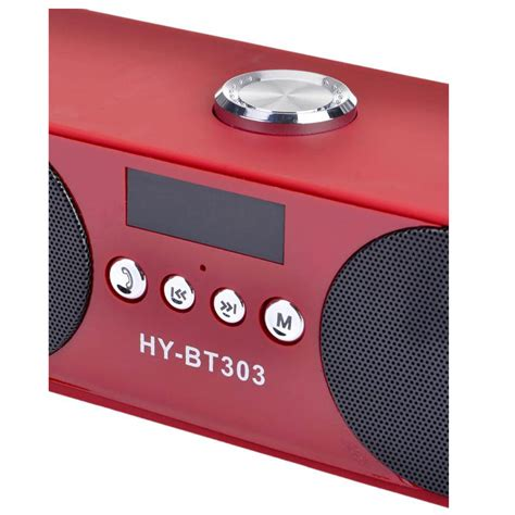 Speaker Aktif Bluetooth Speaker Aktiv Portable Bluetooth Hy Bt89 اسپیکر بلوتوثی رم و فلش خور hy bt303 بهترین قیمت لوازم جانبی