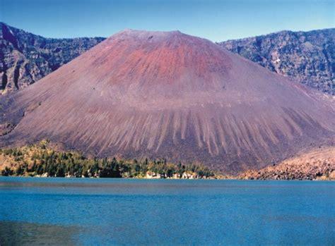 Stiker Taman Nasional Gunung Rinjani taman nasional senyawa kimia s