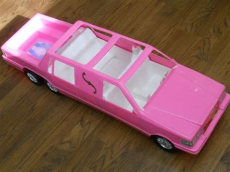barbie cars with back tim mee toys barbie doll sized stretch limo with pool in