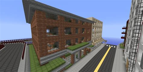 seattle map minecraft seattle an exact replica discontinued minecraft project