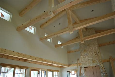 vaulted ceiling with beams lake and garden wood craft ceiling beams cabinets