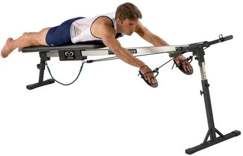 vasa swim bench vasa trainer pro lets you train swimming muscles without a
