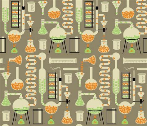 pattern lab themes chemistry alphabet fabric by melisza for sale on