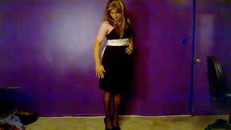 make up for cross dress in columbus ohio crossdressing elegant black dress youtube