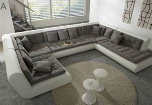modern u shaped sectional sofa fabric leather sofa set new