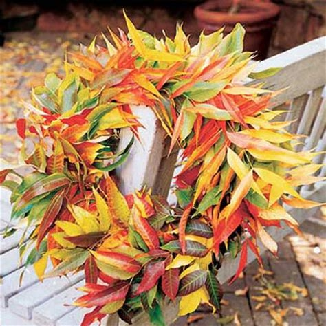 decorating with fall leaves creative decorations with fall leaves sunset