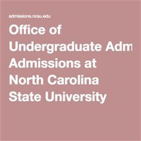 State Office Of Admissions by Park Undergraduate Admissions By Emily