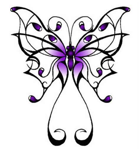 butterfly patterns tattoos