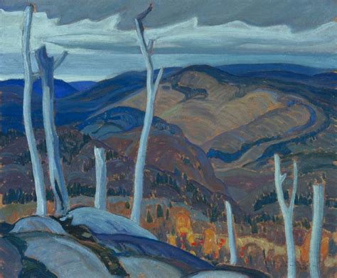 A Grey Day by A Grey Day 1928 Franklin Carmichael Wikiart Org