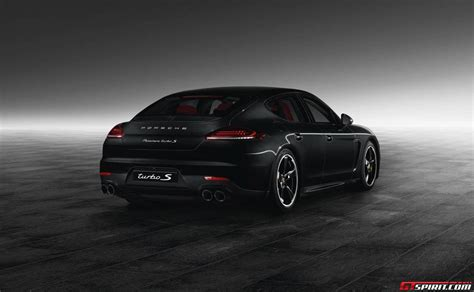 porsche black panamera official jet black porsche panamera turbo s by porsche