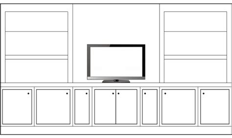 diy built ins with stock cabinets which living room cabinet bookshelf arrangement works best