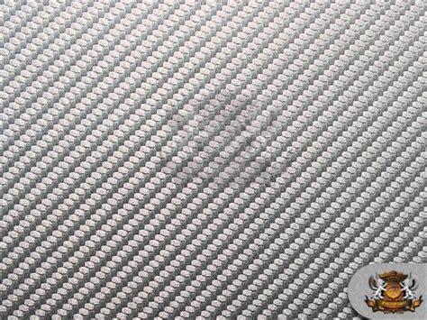 Vinyl Embossed Carbon Fiber Upholstery Fabric Metallic